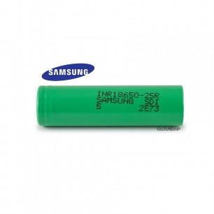 Accu  Samsung INR 18650 -25R 2500mAh - Flat Top