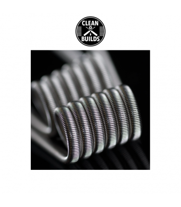 Kanthal Fused Clapton - CleanBluids