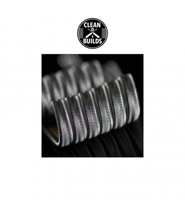 Kanthal Framed Staple Alien Coil - CleanBluids