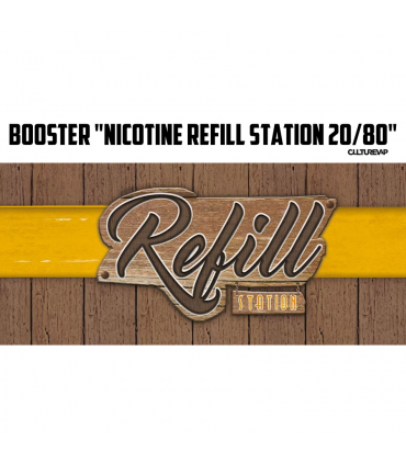 Booster Nicotine - Refill Station 20PG/80VG