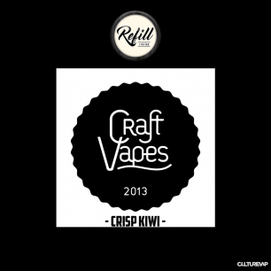 REFILL - CRISP KIWI - CRAFT VAPES
