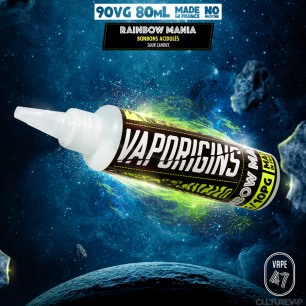 RAINBOW MANIA 80ML - VAPORIGINS