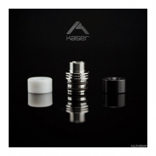 Drip Tip Kaser Winger Black & White