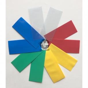 Wraps pour Accus 18650 - 5 couleurs