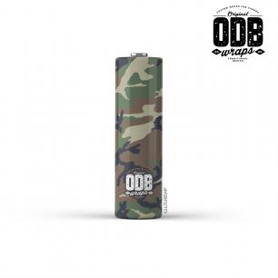 CAMO - ODB Wraps 18650