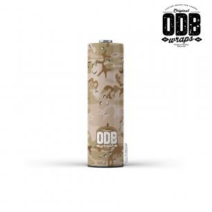 DESERT CAMO - ODB Wraps 18650